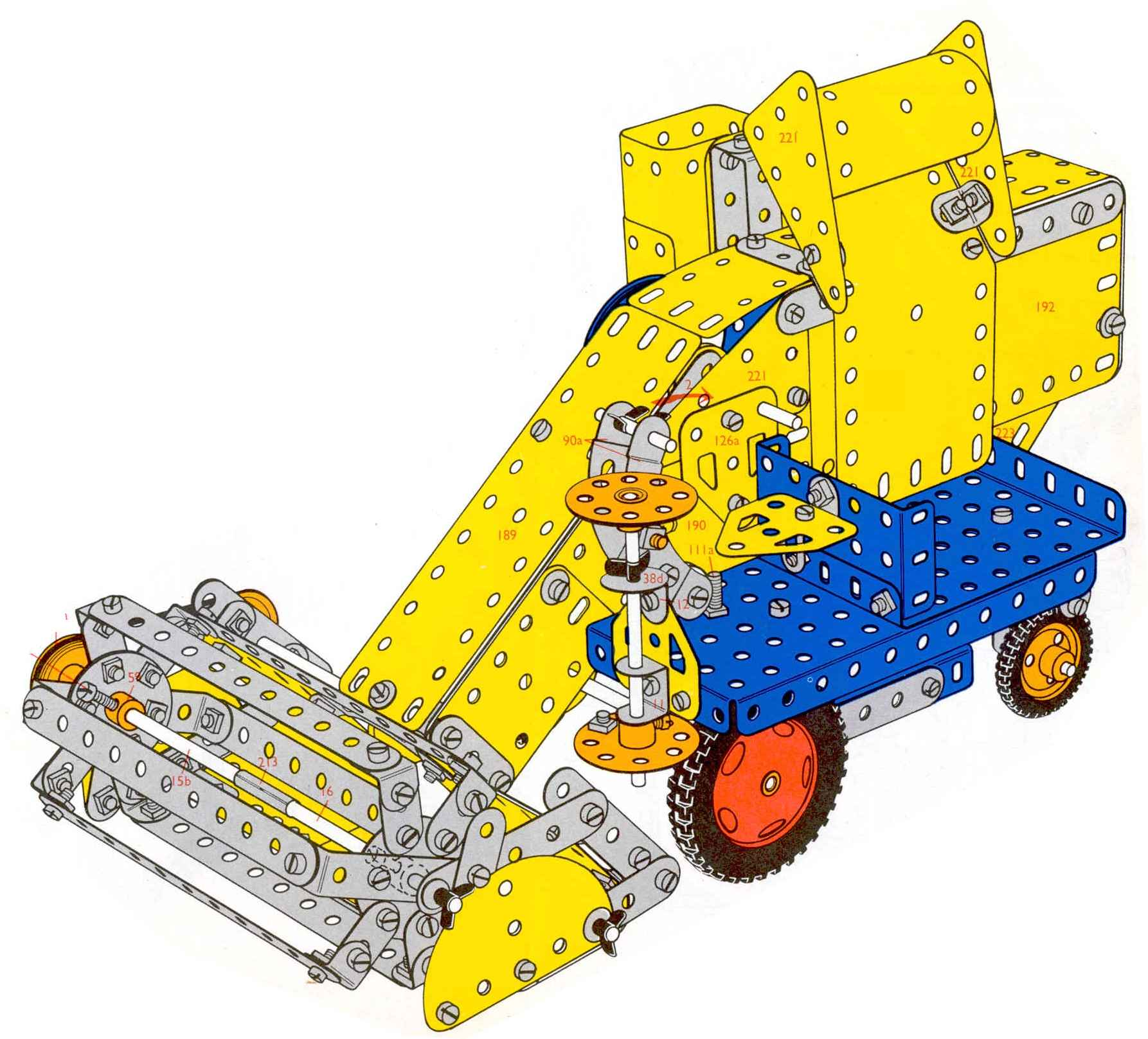 Analysis Of Meccano Manuals Manual Model Search Control Your Models Or Anything Else From Windows Pc 197077 711 Combine Harvester 7